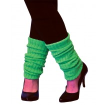 LEG WARMERS ADULT NEON GREEN