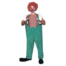 HOOPED CLOWN PANTS SET