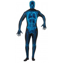 X RAY SKIN SUIT ADULT LARGE