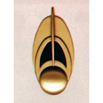 STAR TREK BAJORAN COMM BADGE