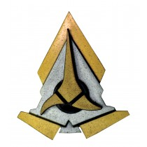 STAR TREK KLINGON COMM BADGE