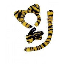 TIGER KIT EARS TAIL COLLAR