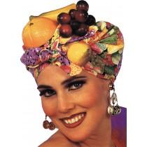 LATIN LADY FRUIT HEADPIECE