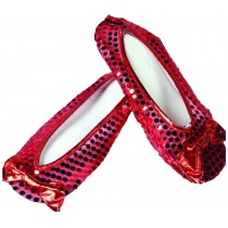 RUBY SLIPPERS ADULT SHOECOVERS