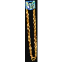 BEADS 33in 7 1/2MM GOLD