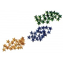 SEW ON STARS 20 PAK BLUE