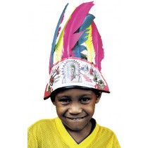 INDIAN HEADDRESS CHILD