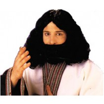 BIBLICAL BEARD & WIG BLACK