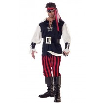 CUTTHROAT PIRATE ADULT MED