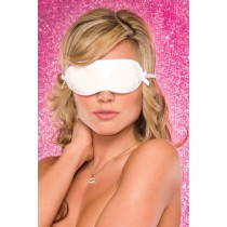 EYE MASK WHITE PVC