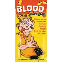 BLOOD CAPSULES 3 PER CARD