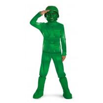 GREEN ARMY MAN DELX CHILD 3-4T