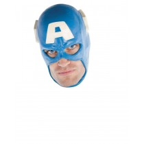 CAPTAIN AMERICA DLX ADULT MASK