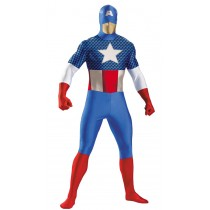 CAPTAIN AMERICA BODYSUIT COSTU