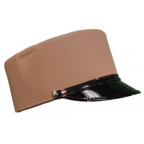 CONDUCTOR HAT TAN LARGE