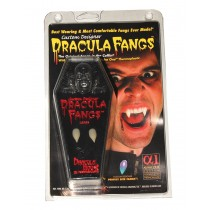 FANGS CARDED VAMPIRE COFFIN