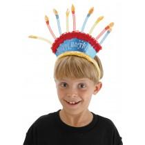 BIRTHDAY CANDLES HEADBAND