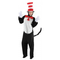 DR SEUSS CAT IN HAT ADULT SM-M