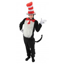 DR SEUSS CAT IN HAT ADULT L-XL