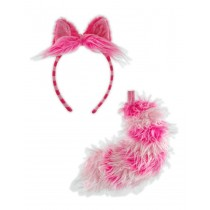 CHESIRE CAT EAR/TAIL SET