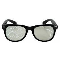 GLASSES BROKEN BLK/CLR