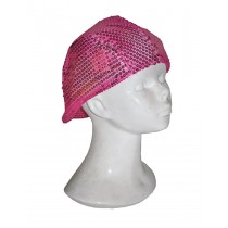 DISCO HAT HOT PINK
