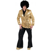 DISCO JACKET GOLD ADULT LG
