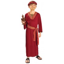 BURGUNDY WISEMAN CHILD LG