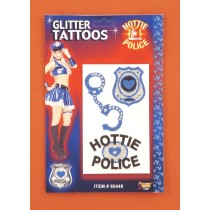 HOTTIE POLICE GLITTR TATTO