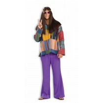 BELL BOTTOM PANTS PURPLE