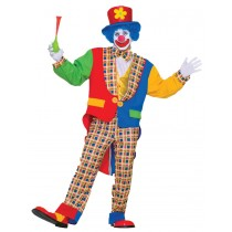 CLOWN ON THE TOWN ADULT
