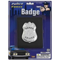 BADGE POLICE W WALLET