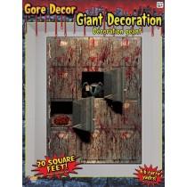 MORGUE WALL DECORATION 4'X 5'