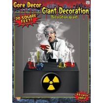 SCIENTIST WALL DECORATION 4'X5
