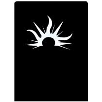 STENCIL BELLYBTN SUN STAINL