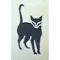 STENCIL BLACK CAT STAINLESS