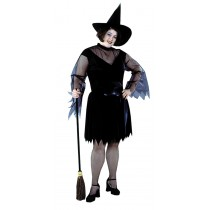FEATHER WITCH PLUS SIZE