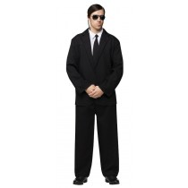 BLACK SUIT ADULT OS