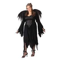 BLACK ROSE FAIRY PLUS SIZE