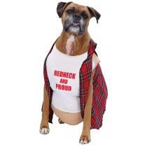 BIG DOG RED NECK PET COSTUME