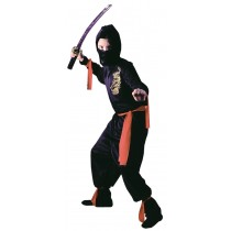 BLACK NINJA CHILD LARGE