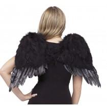 ANGEL WINGS FEATHR CHLD BLK