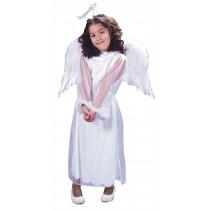 ANGEL WINGS FEATHR CHLD WHT