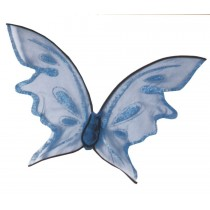 WINGS BUTTERFLY BLUE HOT COLOR