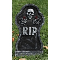 TOMBSTONE 21''RIP ROSES