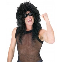 HEADBANGER WIG BLACK