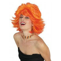 CHOPPY WIG RED ORANGE