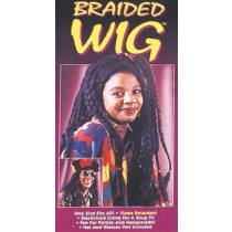 BRAIDED WIG BLACK
