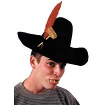 HILLBILLY HAT PIPE FTHR DLX