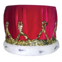 CROWN SEQUIN WITH RED TURBAN